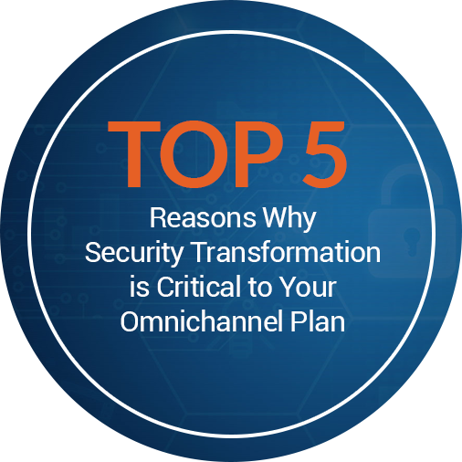 Top 5 reasons security transformation omnichannel