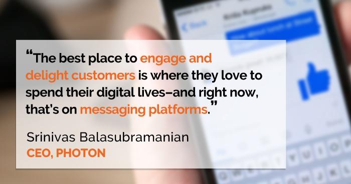 Messaging Platform Tweet
